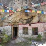 Dzogchen Monastery Shinje Phuk where Paltrul Rinpoche wrote  Kunzang Lamay Shelung